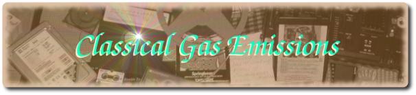 Classical Gas Emissions