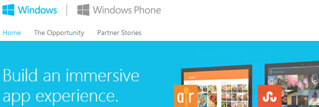 App Store : Windows Store (not for mobile devices)