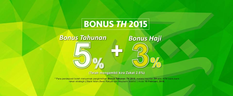 jumlah bonus th