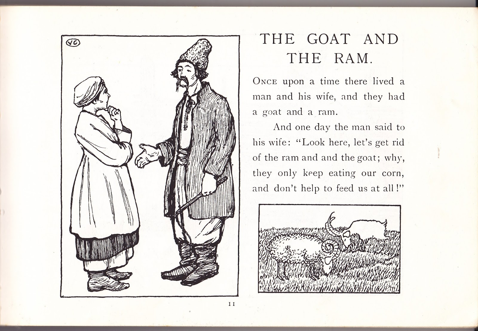 Because This Is Book Is The Most Easily Available Im Going To Follow The Story Of The Goat And The Ram With A Few Other Stories Worth Looking Up In That