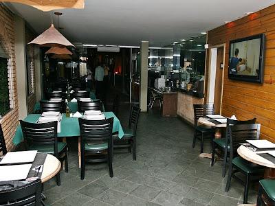 Jabuticaba Restaurante e Pizzaria: Ambiente fechado (Foto: Augusto Angelico)
