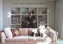 A casa e o estilo de Juliana de Almeida Queiroz