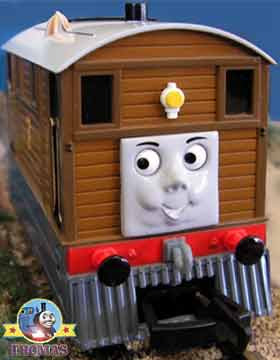 Gauge HO Bachmann toy Thomas and friends Toby the tram engine railway scale model with moving eyes