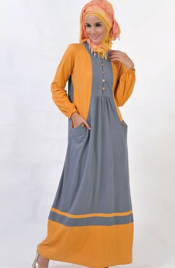 Model Busana Muslim Remaja Gamis Paling Populer