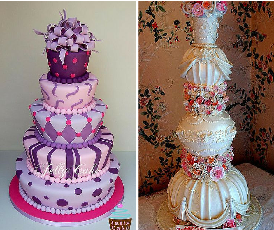 нетрадиционни торти за сватба