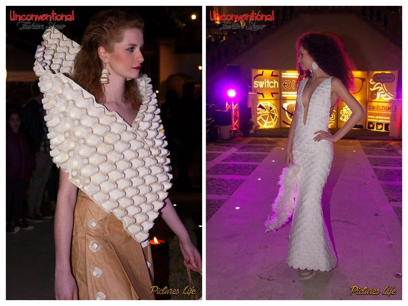 simone perricone, sps, passerella, sfilata, white, dress, stilista, fashion_designer, dress_recycling
