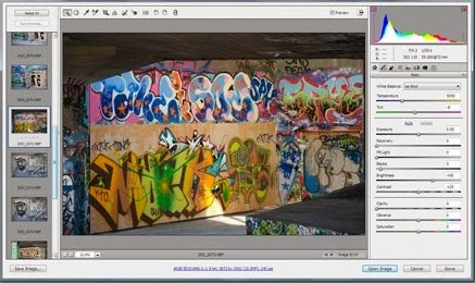 Convert  RAW Files With Adobe Camera Raw