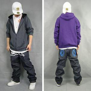 Hip hop dress style for men