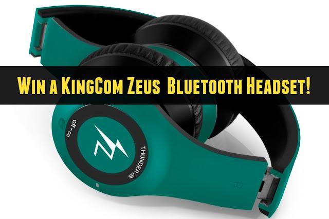 KingCom Zeus Thunder dB Bluetooth Headset