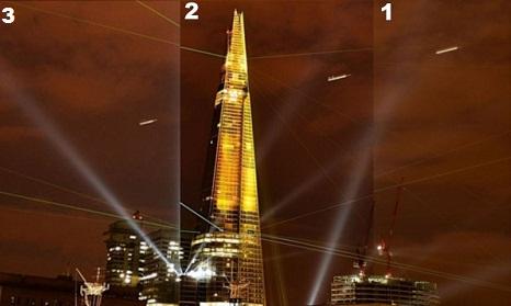 OVNIS rascacielos Londres