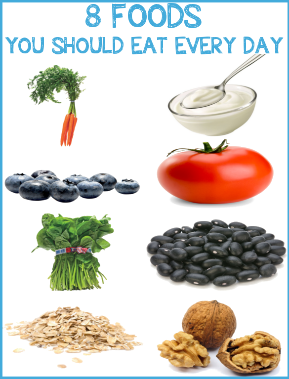 8 Foods You Should Eat Every Day