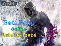 bate-papo sala de jogos