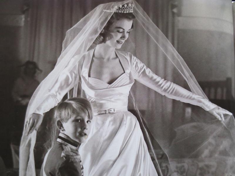 Vintagebröllop 1950-talet detalj