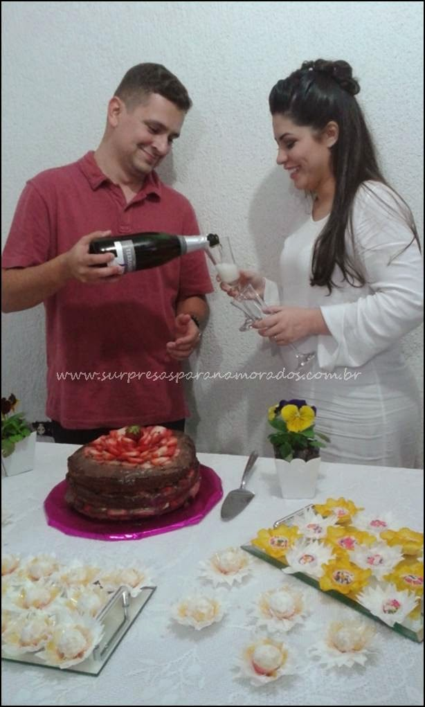 casamento com brinde