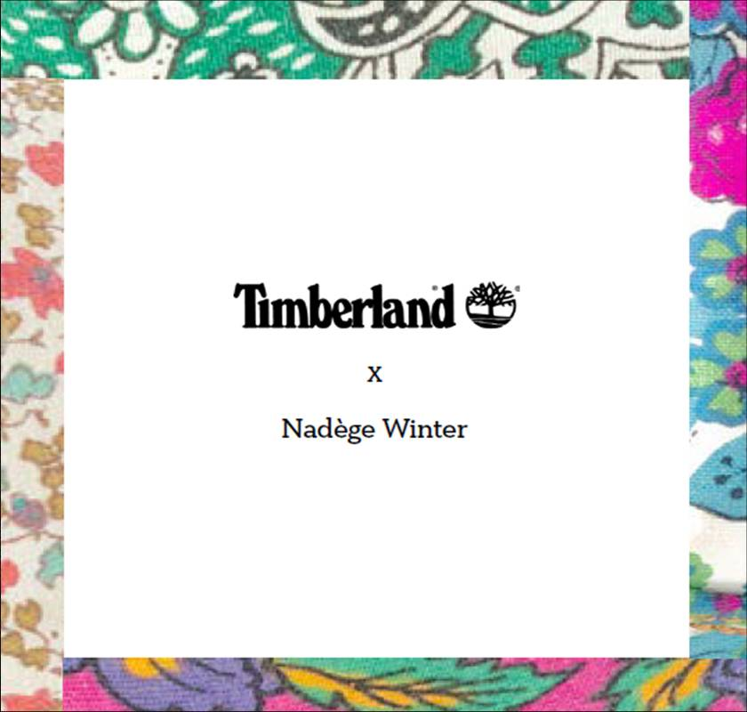 Timberland x Nadege Winter x TRAID