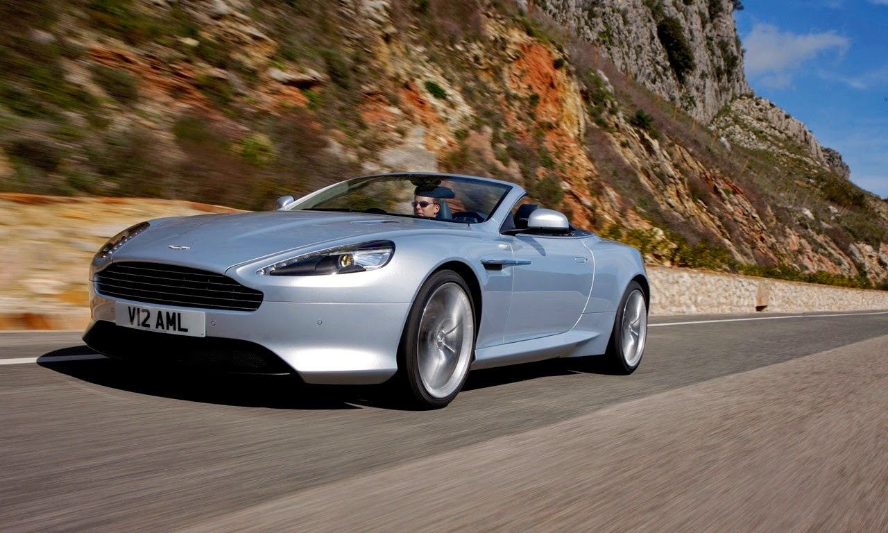 Aston Martin Virage Volante Lightning Silver 2011