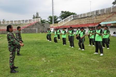 Linmas Sekarisidenan Pekalongan Ikuti Pelatihan Kemampuan Beladiri