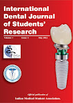 International Dental Journal Of Students' Research (IDJSR)