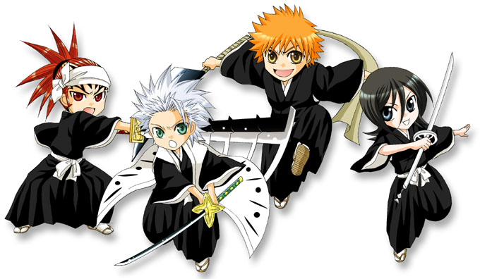 Movie Character List Picture Chibi Bleach