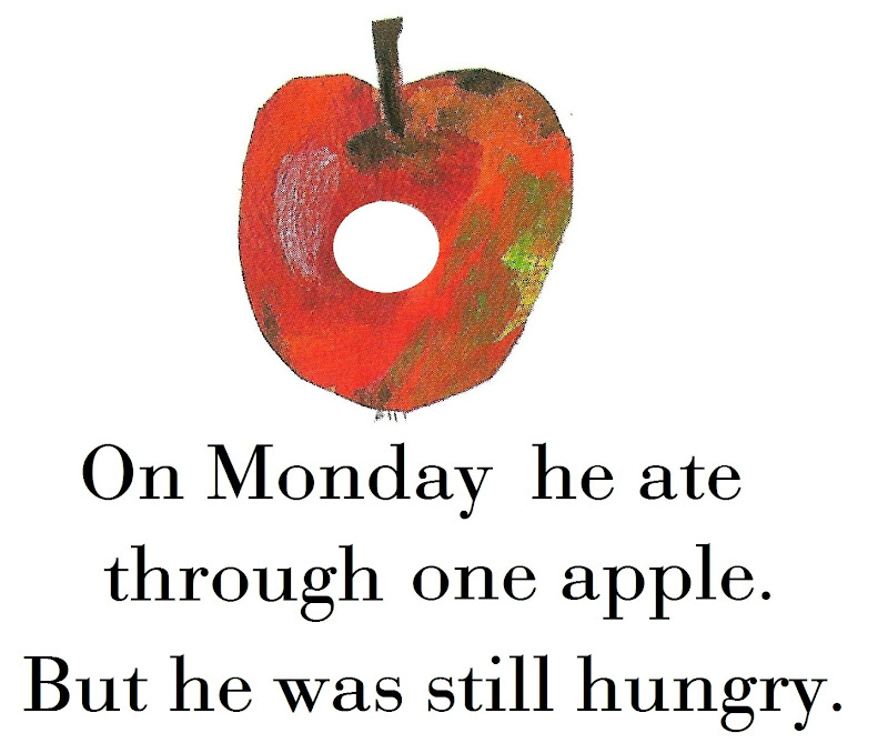 The Very Hungry Caterpillar Fruit Printables Eric Carle Very Hungry ...