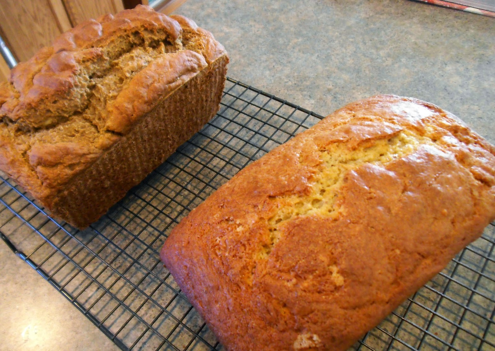 Yankee Belle Cafe Banana Bread Two Ways