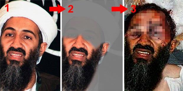 bin laden fake. Photos Osama in Laden was