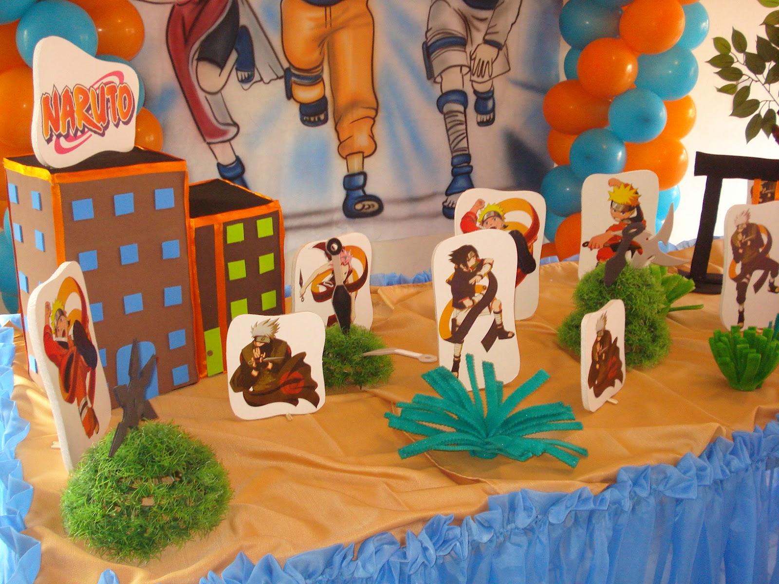 decoracao festa naruto:Andreia Decorações: Decoração Naruto
