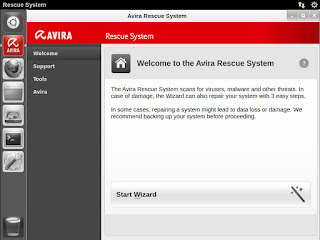 Download Avira Rescue System