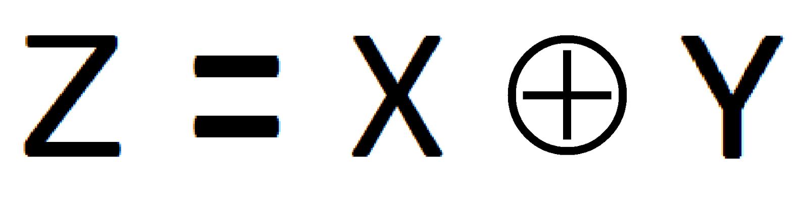 xor logic gate symbol