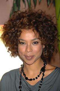 Black Short Curly Haircut Hair Styles - Celebrity Hairstyle Ideas