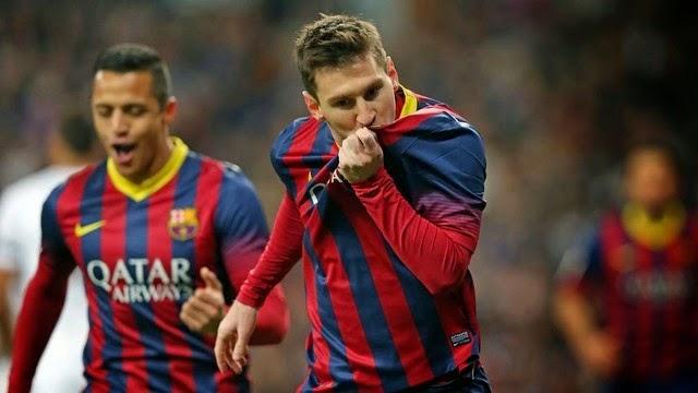 برشلونة يجدد عقد ميسي قبل النهائي ضد اتلتيكو مدريد
