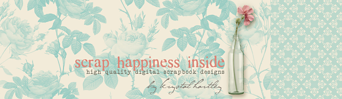 scrap happiness inside by krystal hartley