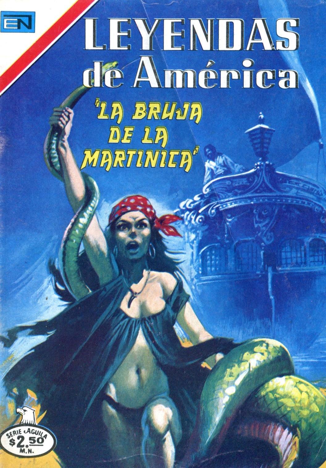 Leyendas de América - Ed. Novaro - COLECCIÓN INCOMPLETA