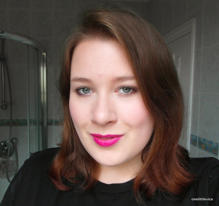 swatch review bright lipstick
