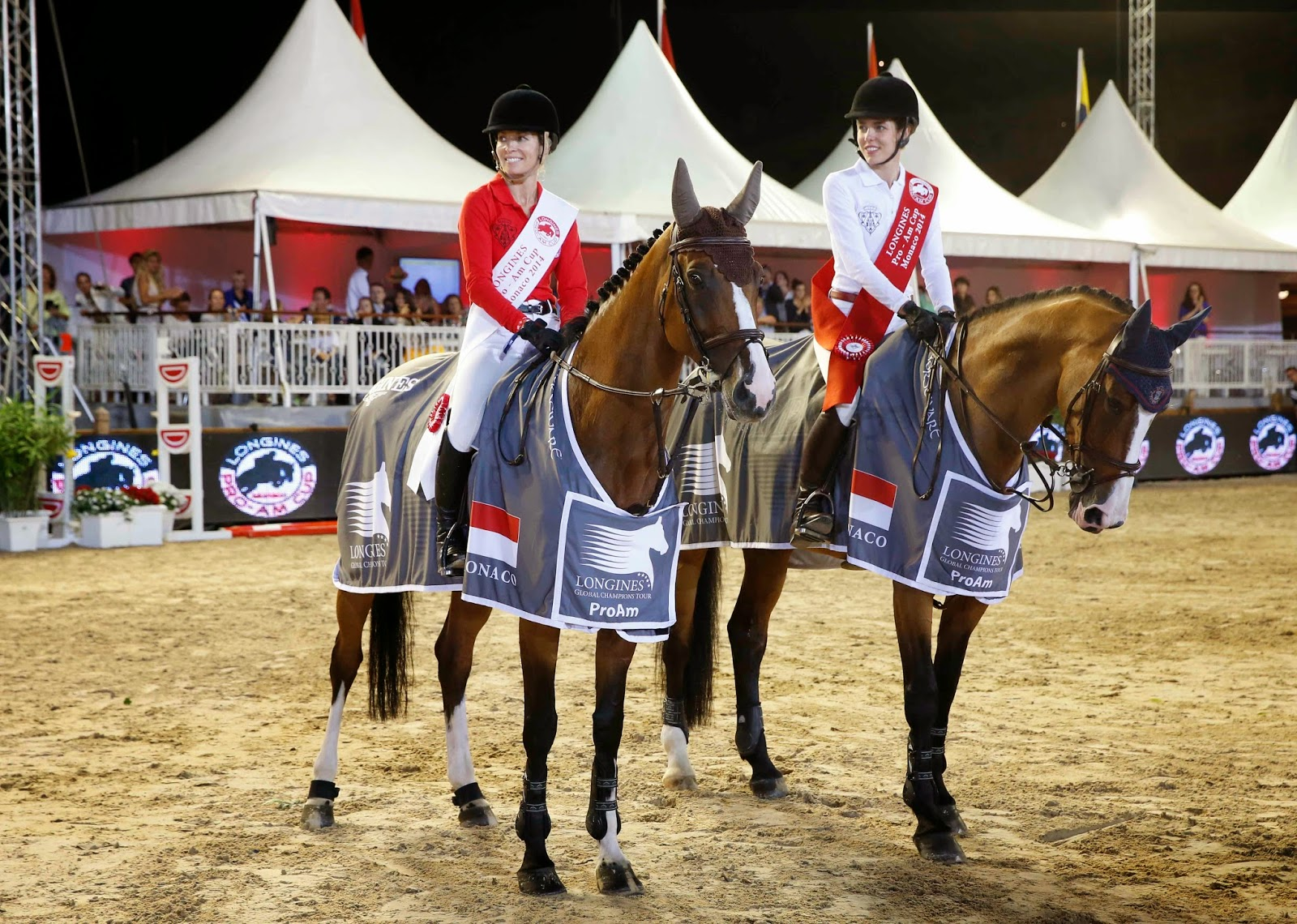 LONGINES Conquest, Global Champions Tour 2014 Montecarlo, Charlotte Casiraghi, gucci, pro am cup, equitazione, show jumping