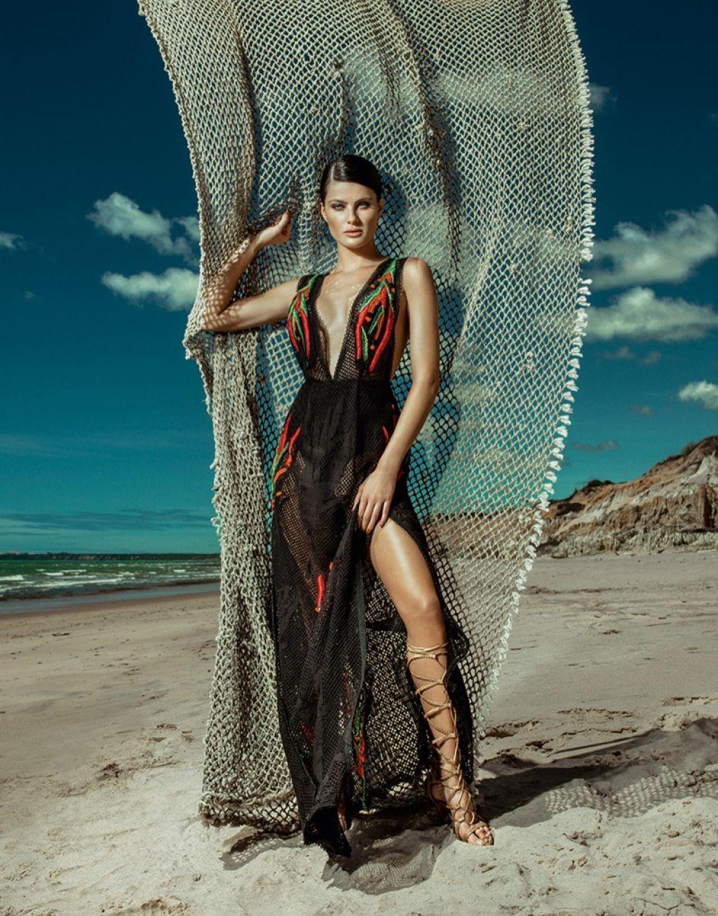 Agua de Coco Summer 2016 Campaign featuring Isabeli Fontana