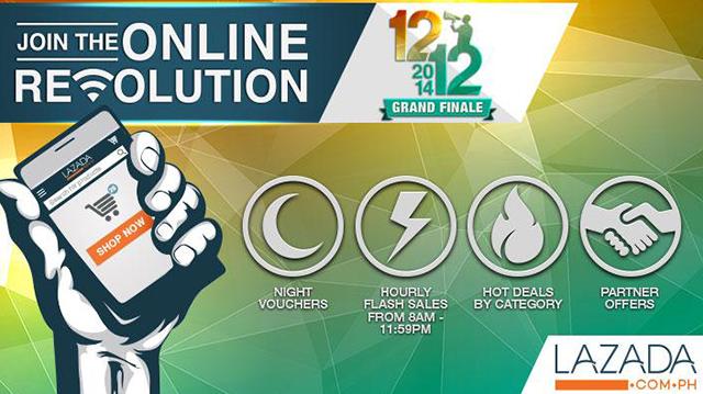 Lazada Online Revolution 12-12