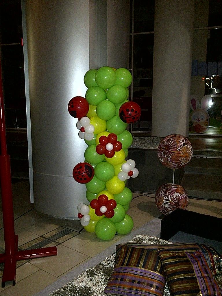 Dekorasi balon for Dekor ulang tahun
