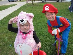 Evie & Sean on Halloween