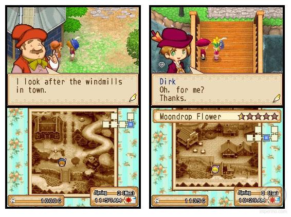 Harvest Moon Grand Bazaar NDS Roms Gameplay