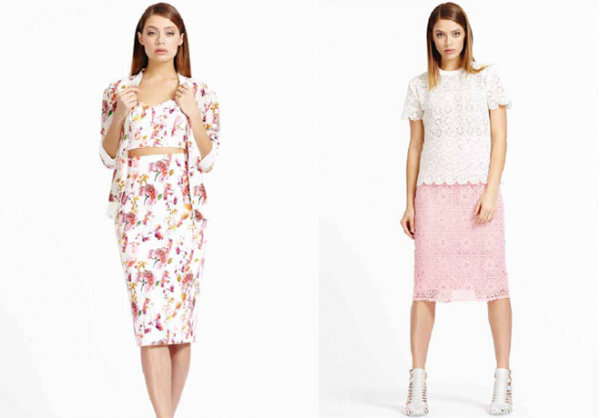 Debenhams,SS14,Pastels,floral,coordinates,lace