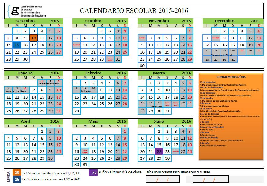 calendario escolar anual 2015 2016 calendario escolar anual 2015 2016 ...