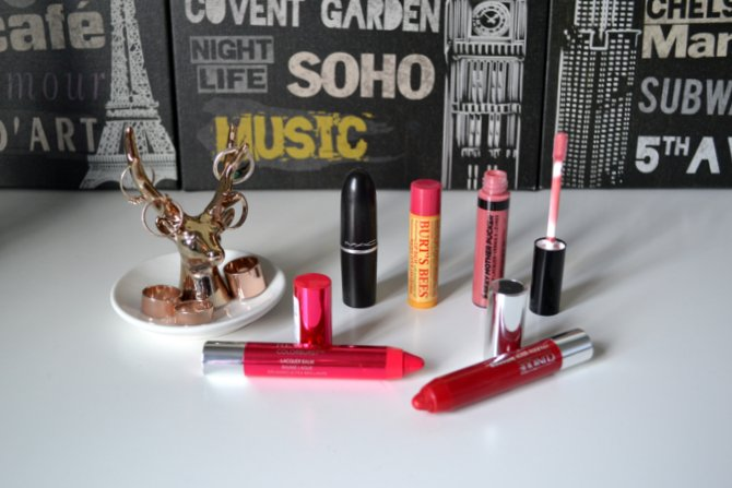 The Handbag Lip Product Staples