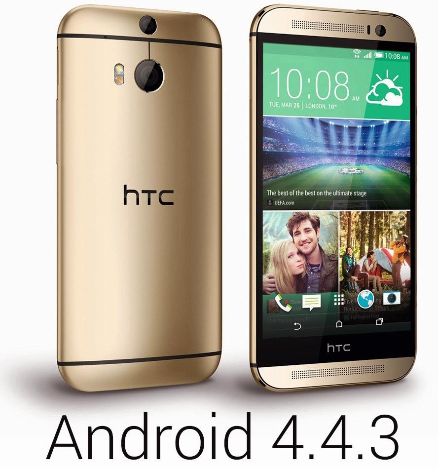 El HTC One M8 se actualiza a 4.4.3
