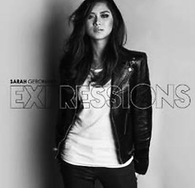 """Sarah Geronimo """"Expressions"""" album cover"""