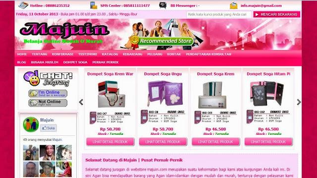 toko online nusana muslim dan aksesoris