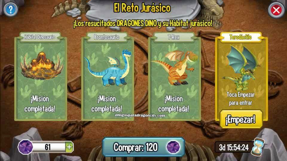 imagen de terodactilo de la isla dinosaurio de dragon city
