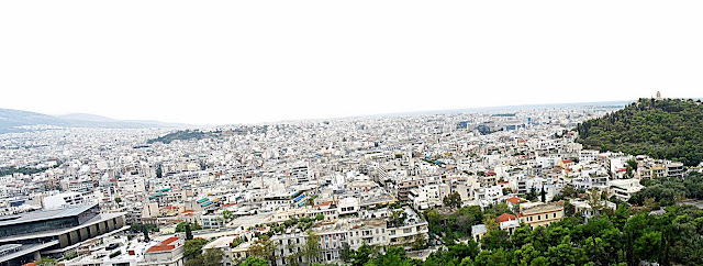 view of Athens, Greece