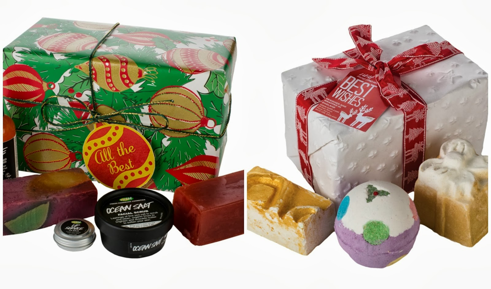 Lush christmas gift sets the sunday girl