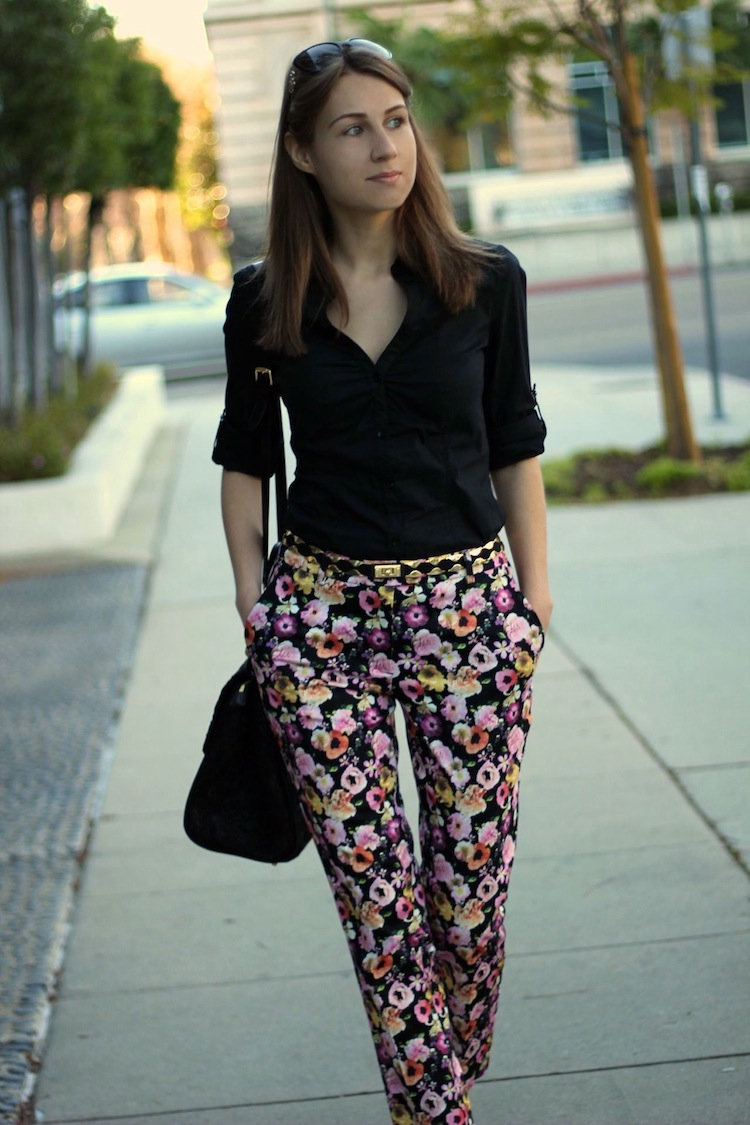 La By Diana Personal Style Blog By Diana Marks Black Gold And